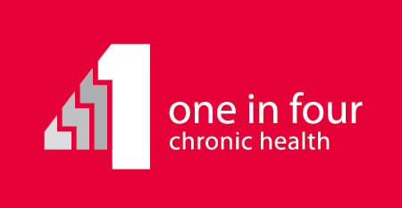 One in Four Chronic Health Logo